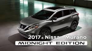 nissan crosscabriolet black 2017 5 nissan murano midnight edition youtube