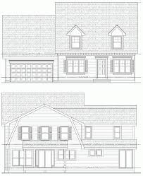 modern cape cod house plans for new england simplicity single hahnow
