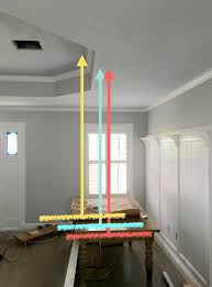dining room light fixture center problem placing a dining table light fixture at edge of tray ceiling