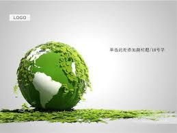 templates powerpoint earth environmental protection eco earth ppt template ppt