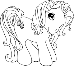 free printable pony coloring pages chuckbutt