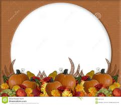 thanksgiving autumn fall border royalty free stock photos image