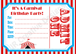 printable circus invitations printable invitations