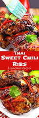 thai sweet chili ribs the midnight baker