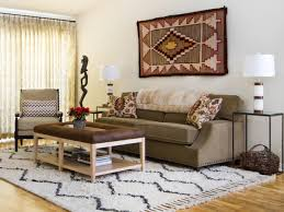 southwestern living room with warmth and charm this living room