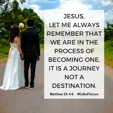 wedding quotes journey begins jesus let me always remember that we are in the process of