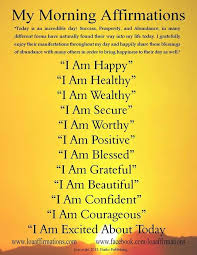 best 25 morning affirmations ideas on pinterest miracle morning