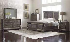avalon bedroom set king upholstered bed with button tufting lenox by avalon