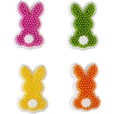 easter bunny decorations easter bunny icing decorations wilton