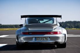 porsche 930 turbo wide body mcchip turns porsche 993 gt2 into a formidable track racer with