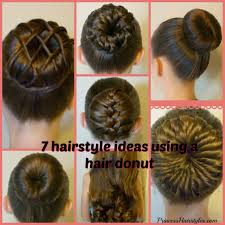 hairstyles with a hair donut 7 ways to make a bun using a hair donut hairstyles for girls