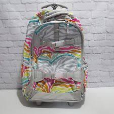 Pottery Barn Mackenzie Backpack Pottery Barn Mackenzie Rolling Backpacks Gray Snakeskin Ebay