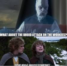 Lotr Meme - i sense a plot to destroy prequel memes with lotr memes prequelmemes