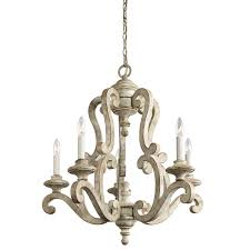 Kichler Lighting Chandeliers Kichler Lighting 43256daw Hayman Bay 5 Light Chandelier