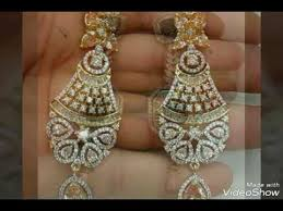 heavy diamond earrings heavy ad earrings collection