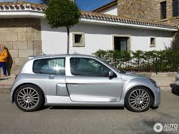renault silver renault clio v6 phase ii 8 june 2014 autogespot