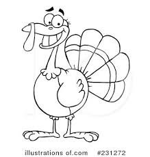 thanksgiving turkey clipart 231272 illustration by hit