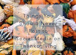 dabble6 things you should never post to social media on