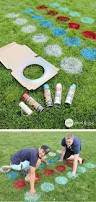 Diy Backyard Games For Adults Twister Is Just So Much More Fun When You Play It Outside Spray