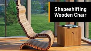 Shape Shifting Furniture The Future Of Furniture Is Here Youtube