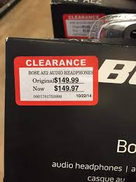 great deal on bose headphones at fred meyers portland