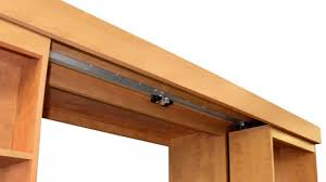 Bookcase Door Hardware Sliding Track Systems Sliding Bookcase Hardware Systems Hidden