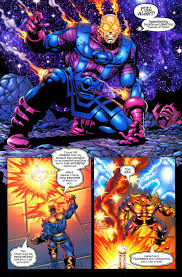 Sentry Vs Thanos Whowouldwin Scan Battle Thanos Vs Seed Sentry Whowouldwin
