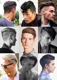 names of different haircuts types of mens haircuts names so cool men39s undercut hairstyles