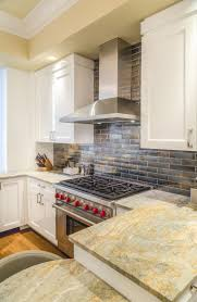 Tumbled Slate Backsplash by Kitchen Backsplash Stone Backsplash River Rock Backsplash