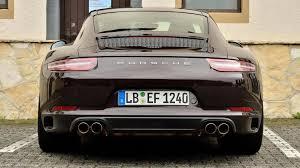 chrome porsche 911 2016 porsche 911 carrera s facelift spied up close at the