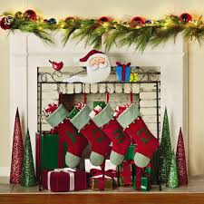 christmas stocking holder tree stand home design inspirations
