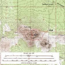 Phoenix Mountain Preserve Map by Ragged Top Loop Sirena U0027s Wanderings