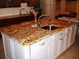Kitchen Island With Sink And Seating Kitchen Island Sink Unit Oven Microwave And Refrigerator On Corner