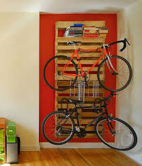 diy bike racks 14 ways of building your own pallet bike rack