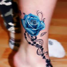 imaginative rose tattoo 2 rose ankle tattoo on tattoochief com