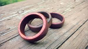 How To Make Inlay Jewelry - how to make a wooden wedding ring wolf u0026 iron