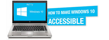 Computer For The Blind How To Make Windows 10 Accessible Ib Milwaukee Industries For