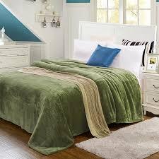 ou jeter un canapé chameau polaire couverture plaid doux et chaud brun japonais style