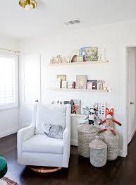 Nursery Wall Bookshelf Sarah Sherman Samuel The Perfect White U0026 Diy Nursery Shelves