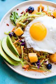 Warm Nourishing Paleo Warm Breakfast Salad