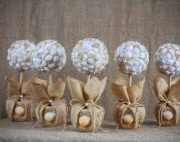 seashell centerpiece etsy