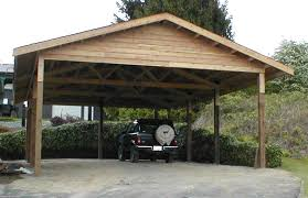 Free Standing Storage Buildings by Wood Carports With Storage Photo Pixelmari Com