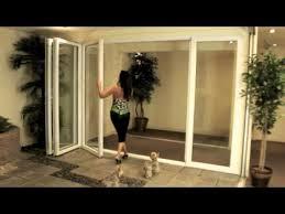 Collapsible Patio Doors by Folding Patio Doors Folding Glass Doorsfolding Exterior Doors 8