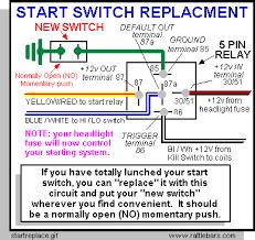 starter button maintenance on valkyries