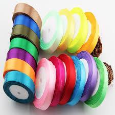 ribbon streamers 2roll 25y diy decorative color ribbon hotel wedding marriage room