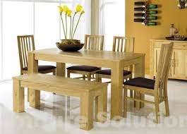 farmhouse table and chairs with bench best oak benches for dining tables dinning table with bench