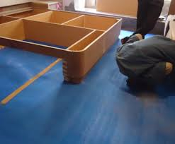 concrete floor protection during construction