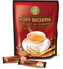 Kopi Tongkat Ali Ginseng Coffee 5 in 1 tongkat ali ginseng coffee premix 9555025000012 rm51 00
