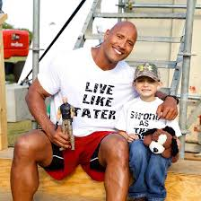 the rock mourns the loss of fan who lost battle with cancer wsb tv