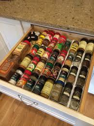 ikea variera drawer insert for spice jars keeps the spices